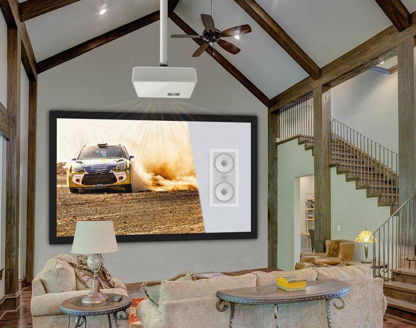 Severtson Screens начала продажи акустически прозрачного проекционного экрана SAT-4K