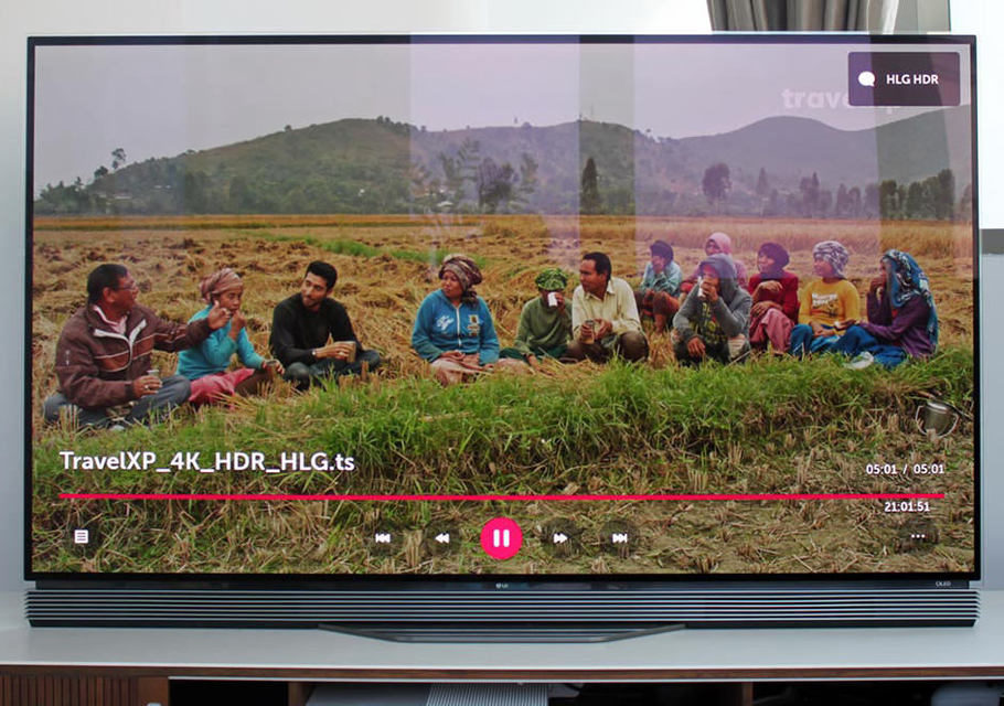 OLED-телевизоры LG 2016 года получили поддержку HLG