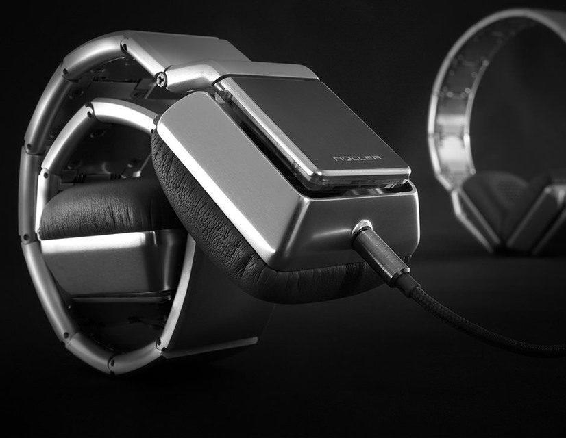 Luzli Roller MK01: сворачивающиеся в рулон полноразмерные наушники