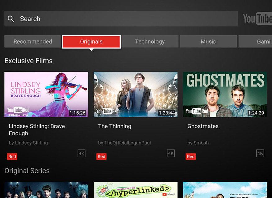 Youtube получил обновленный интерфейс в Android TV и больше не работает на телевизорах старше 2012 года