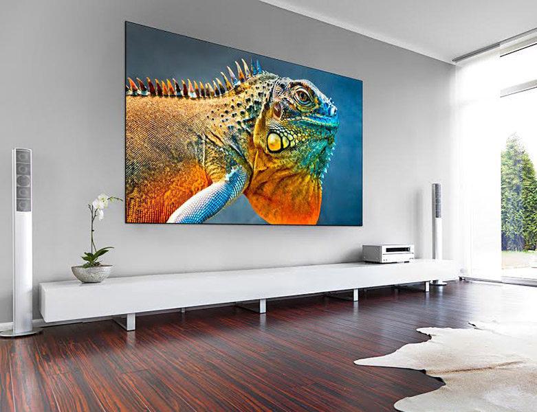 Проекционные экраны Stiletto от Vutec: ультратонкие рамки, LED-подсветка и поддержка 8K-изображения