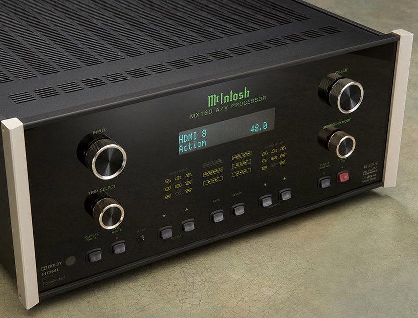 В AV-процессор McIntosh MX160 добавили поддержку протокола обнаружения устройств Control4 SDDP