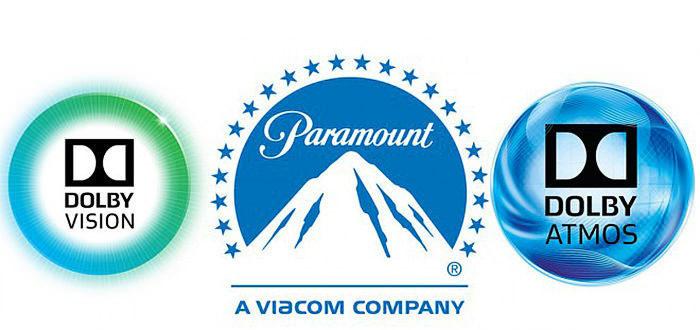Paramount начнет выпускать фильмы в форматах Dolby Vision и Dolby Atmos