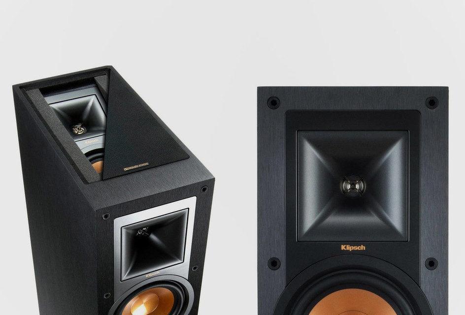 Klipsch R-26FA и R-14SA: акустика для Dolby Atmos
