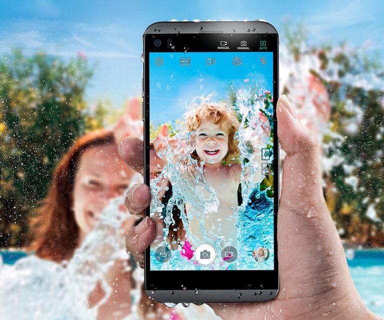 LG Q8: компактный водозащищенный аудиосмартфон с Quad DAC