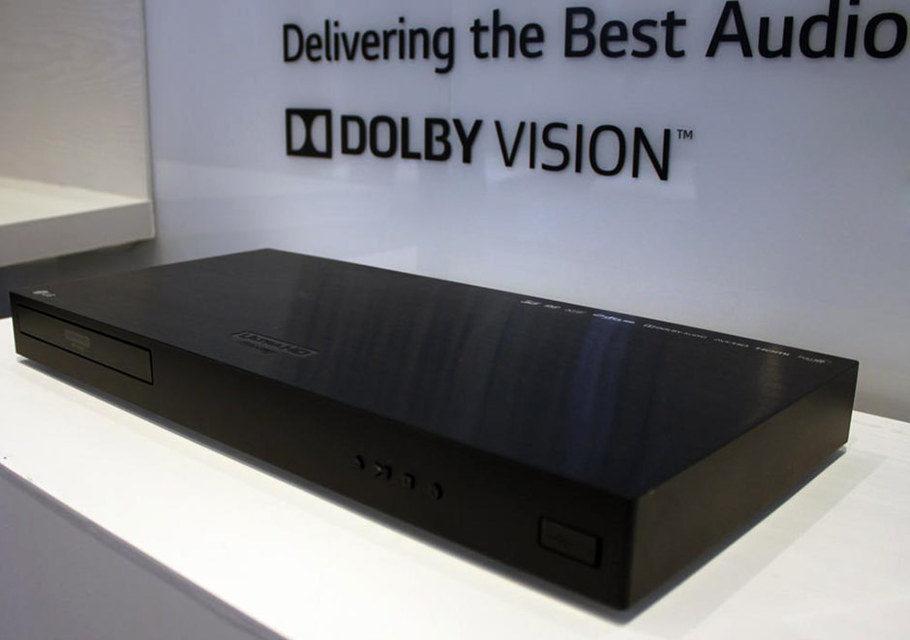 LG добавила поддержку Dolby Vision в UHD Blu-ray плеер UP970