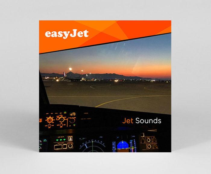 EasyJet выпустила альбом со звуками самолетных двигателей