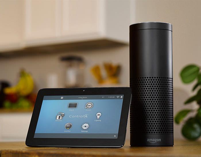 Голосовым помощником Amazon Alexa ежедневно пользуются в 10 тысячах умных домов на платформе Control4