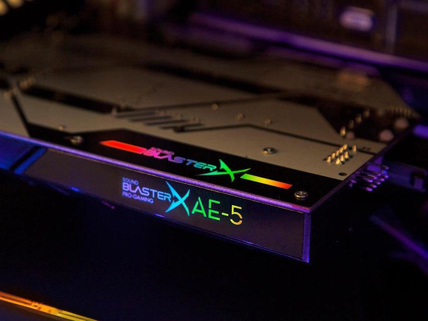 Creative отметит тридцатилетие звуковых карт выходом SoundBlasterX AE-5