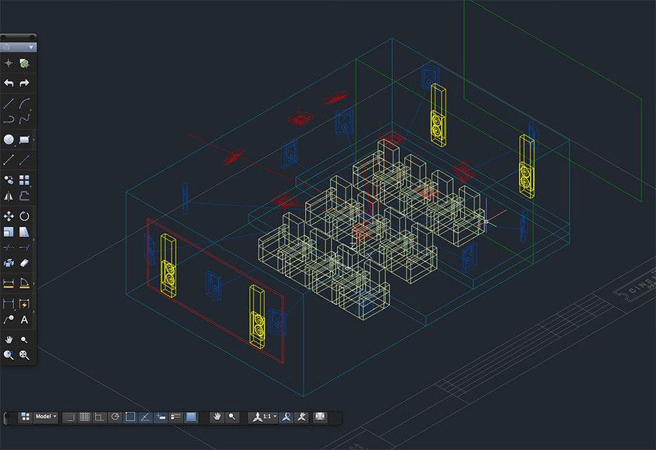 Программа The Cinema Designer для проектирования кинотеатров получила обновление от Trinnov