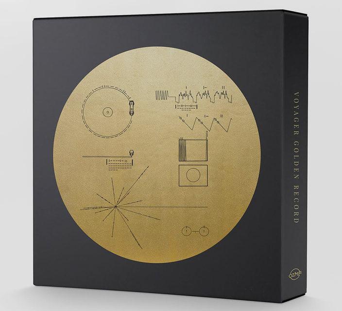 Копия отправленного в космос «золотого диска» поступила в продажу