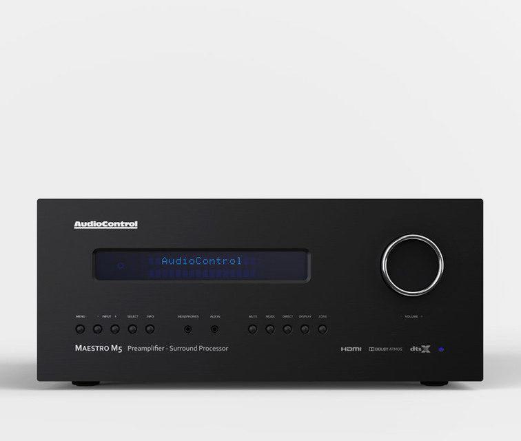 AV-процессор AudioControl Maestro M5: поддержка Dolby Atmos, DTS:X и система коррекции Dirac Live