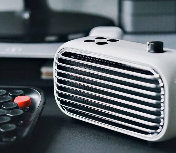 Lofree Poison: беспроводная колонка-радио в ретро дизайне
