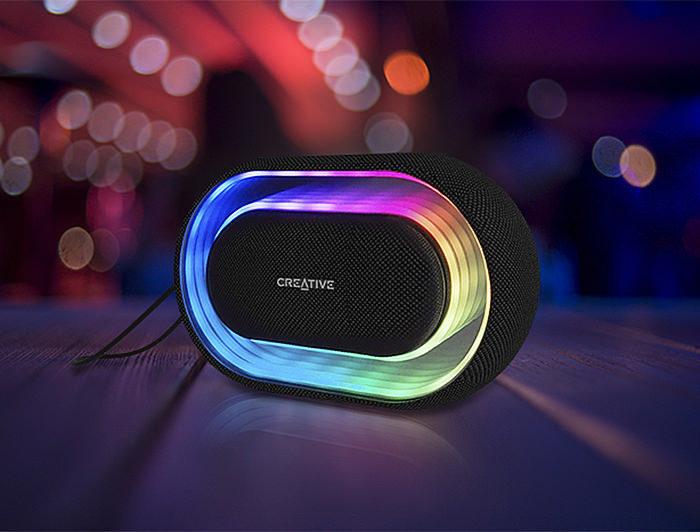 Creative выпустила беспроводную колонку Halo с регулируемой подсветкой