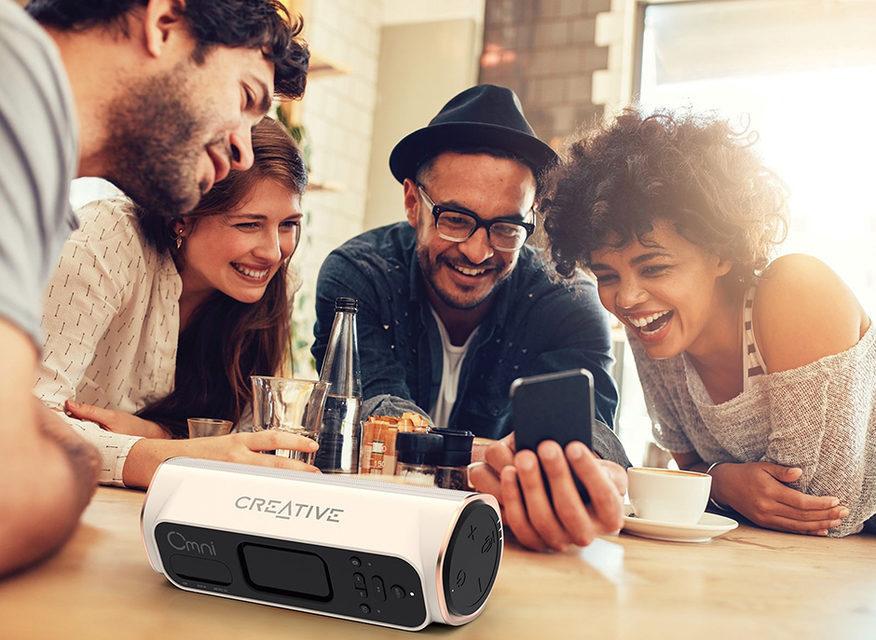 Creative выпустила первую Wi-Fi колонку Omni
