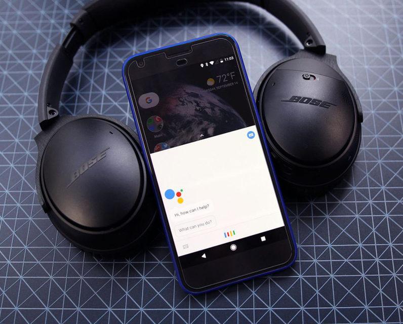 Наушники Bose QuietComfort 35 II первыми получат поддержку Google Assistant