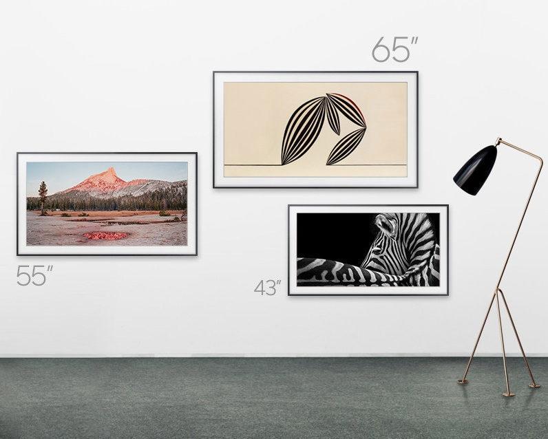 Samsung представила линейку невогнутых телевизоров Q8F и модель The Frame с диагональю 43 дюйма