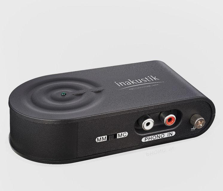 Inakustik представила компактный фонокорректор с функцией оцифровки