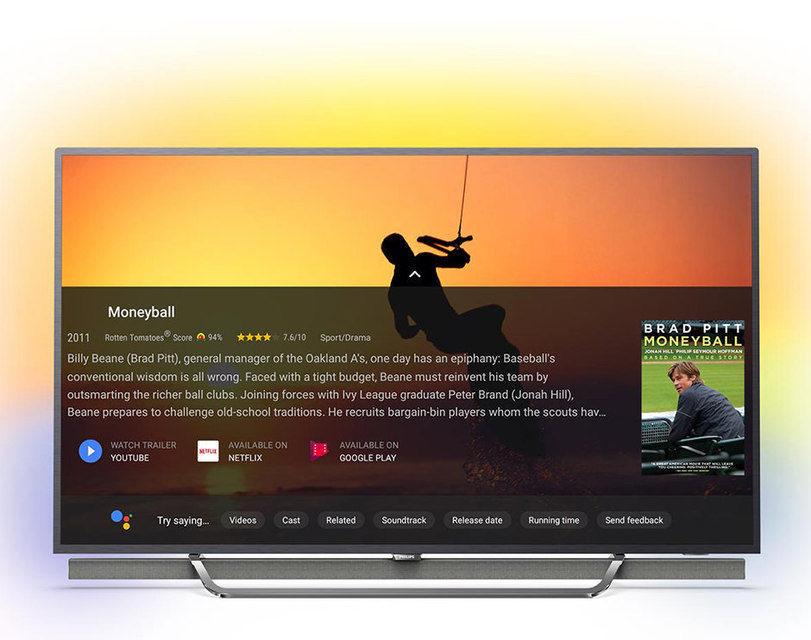 Google Assistant появится в телевизорах Philips на платформе Android в ближайшее время