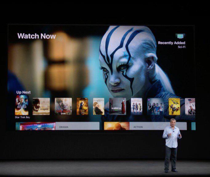 Apple представила Apple TV 4K с поддержкой разрешения 4К