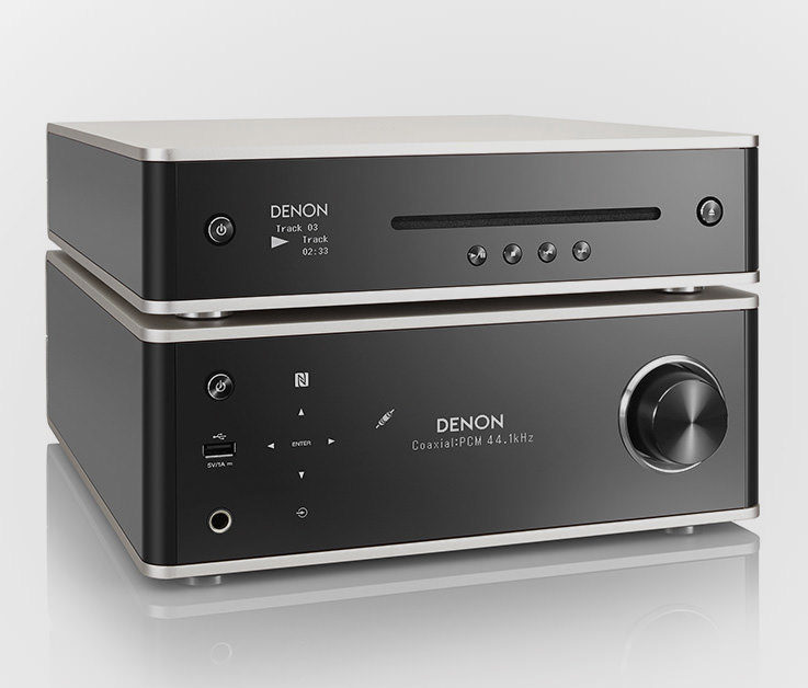 Новые компоненты Denon Design Series станут доступны в России в октябре