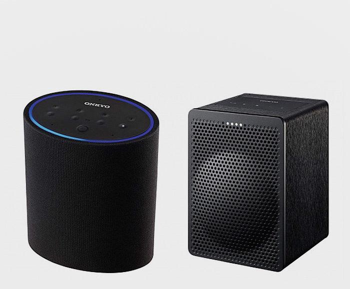 Onkyo представила две смарт-колонки: P3 на Amazon Alexa и G3 на Google Assistant