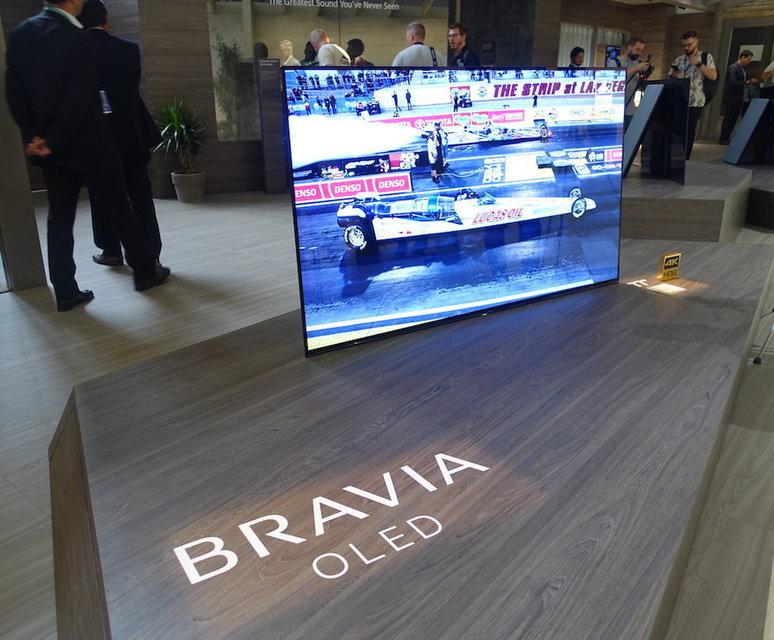 Стартовали европейские продажи 77-дюймового OLED-телевизора Sony A1