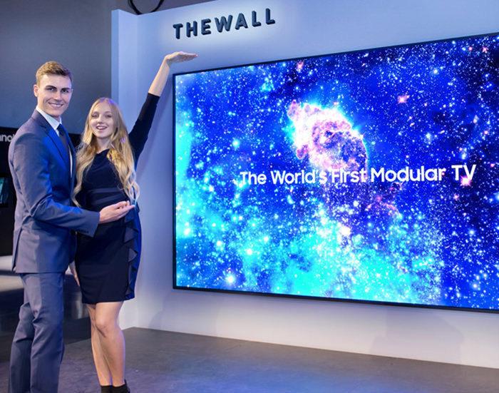 Модульный телевизор Samsung стал лидером списка «Лучшее на CES 2018» по версии FlatpanelsHD
