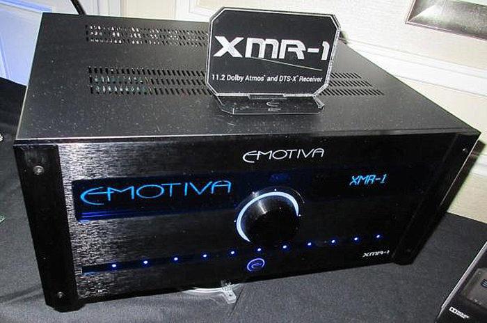 Emotiva анонсировала выход AV-процессора XMC-1, AV-ресивера XMR-1 и многоканальных усилителей XPR-D2 и XPR-11