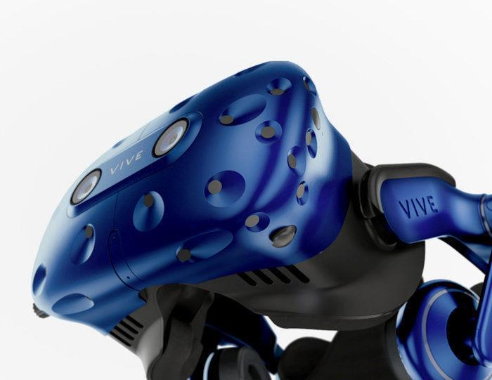 VR-гарнитуру HTC Vive Pro оснастили встроенными наушниками и беспроводным адаптером