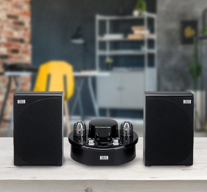 SōLIS SO-7500 и SO-8000: маленькие и недорогие аудиосистемы с гибридными усилителями