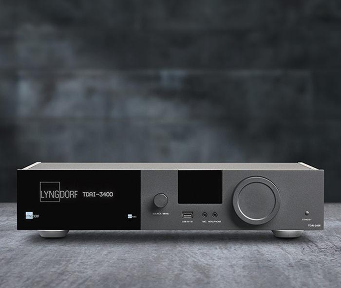 Lyngdorf представит на ISE 2018 усилитель TDAI-3400 и акустику FR-1