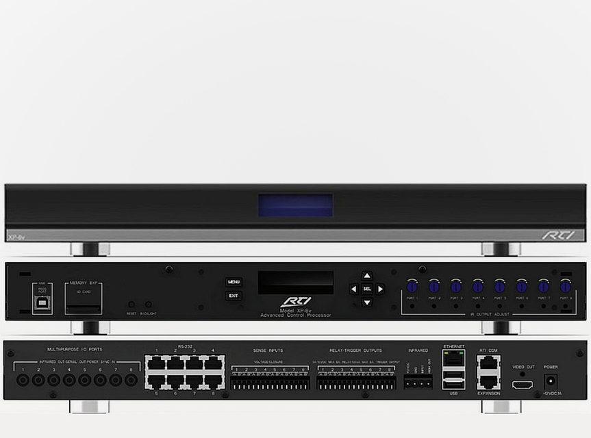 Контроллер для систем автоматизации XP-8v стал самой мощной моделью в линейке RTI