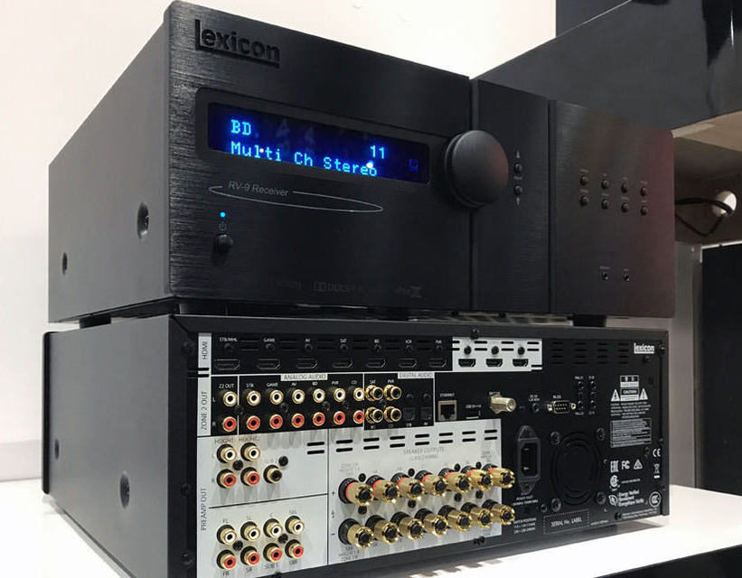 Lexicon представила процессор MC-10 и ресиверы RV-6 и RV-9 с поддержкой Dolby Atmos и DTS:X