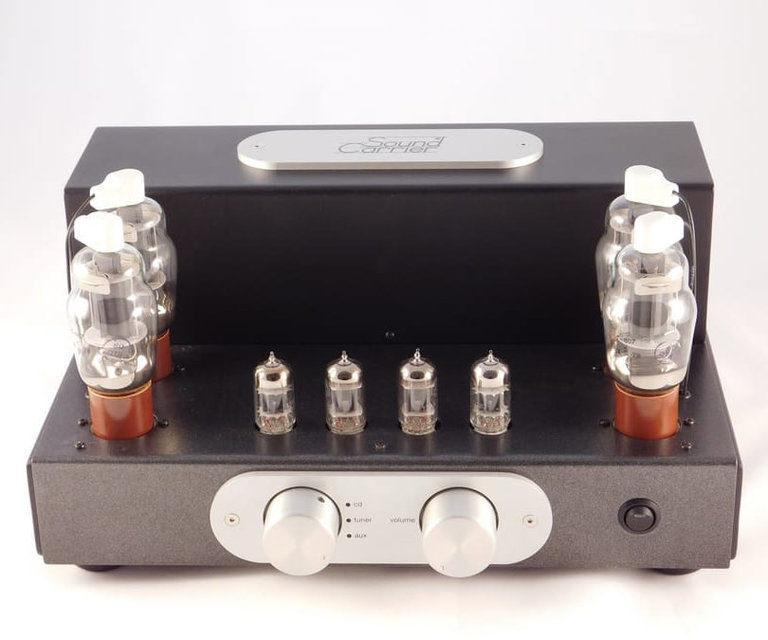 Sound Carrier представила интегрированный ламповый усилитель 807