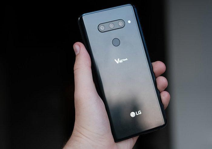 LG внедрила в смартфон V40 ThinQ аудиотехнологии Meridian