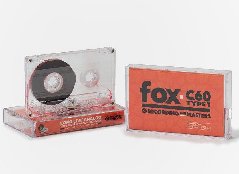 Recording The Masters начали выпуск компакт-кассеты C-60