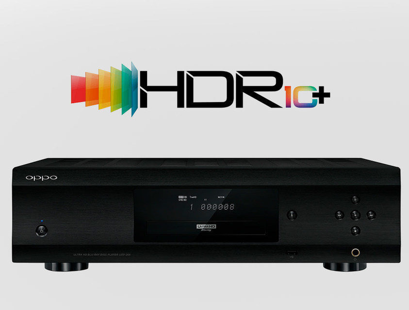 UHD-проигрыватели Oppo получат поддержку HDR10+
