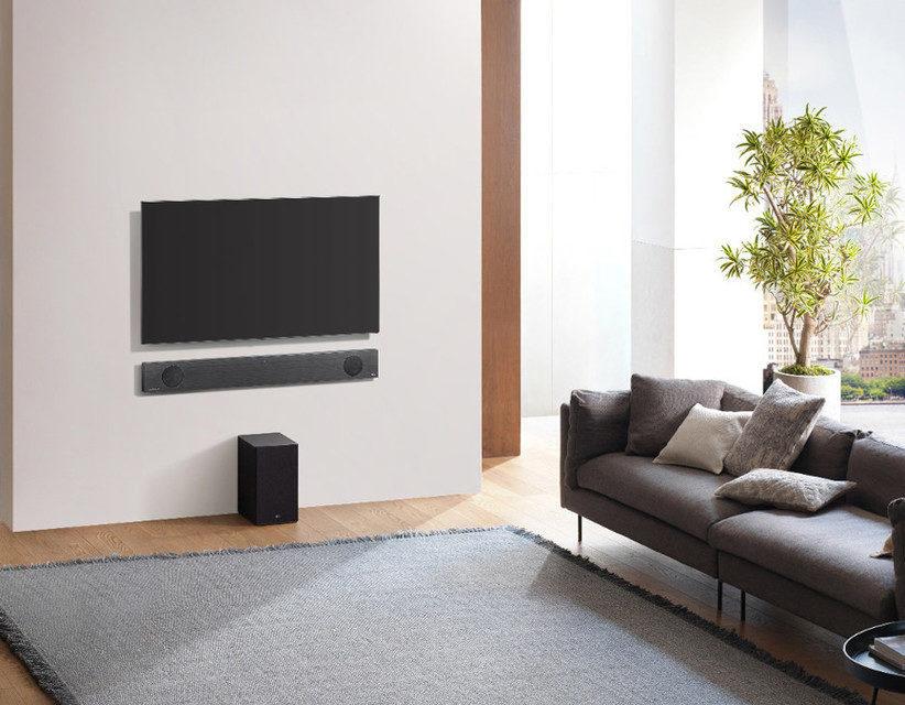 LG представит линейку созданных в партнерстве с Meridian Audio саундбаров