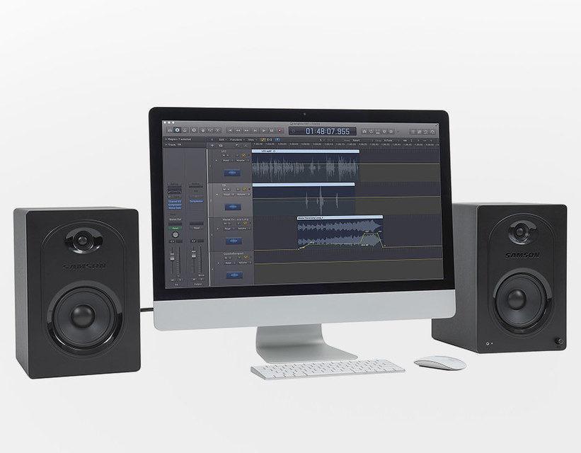 Samson MediaOne M50: недорогие активные мониторы для дома и студии
