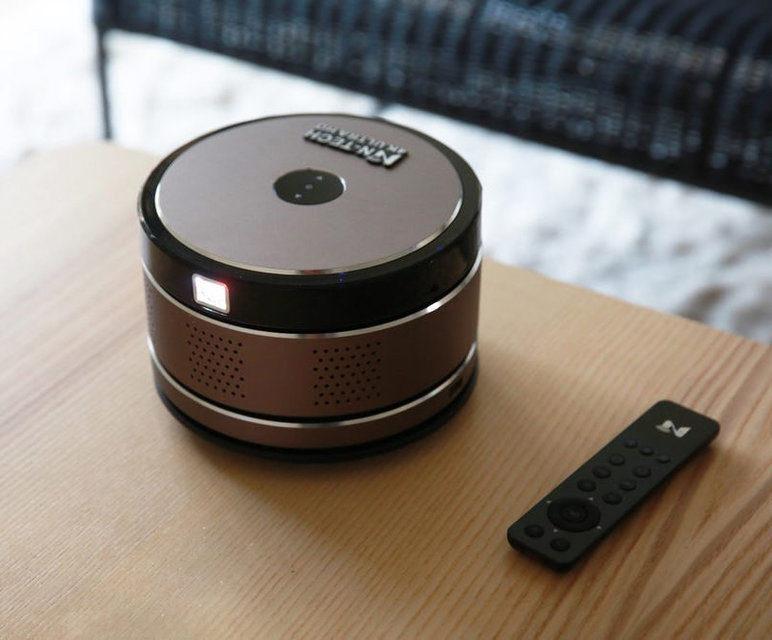 N-Tech: портативный и беспроводной 4K-проектор за полтысячи долларов