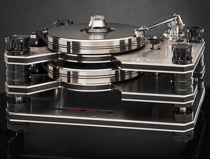 Винил Джем 2018: топовая вертушка Kronos Pro в компании стильной акустики Estelon YB
