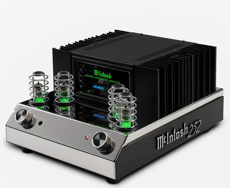В России стартовали продажи интегральника McIntosh MA252 и проигрывателя винила MT2