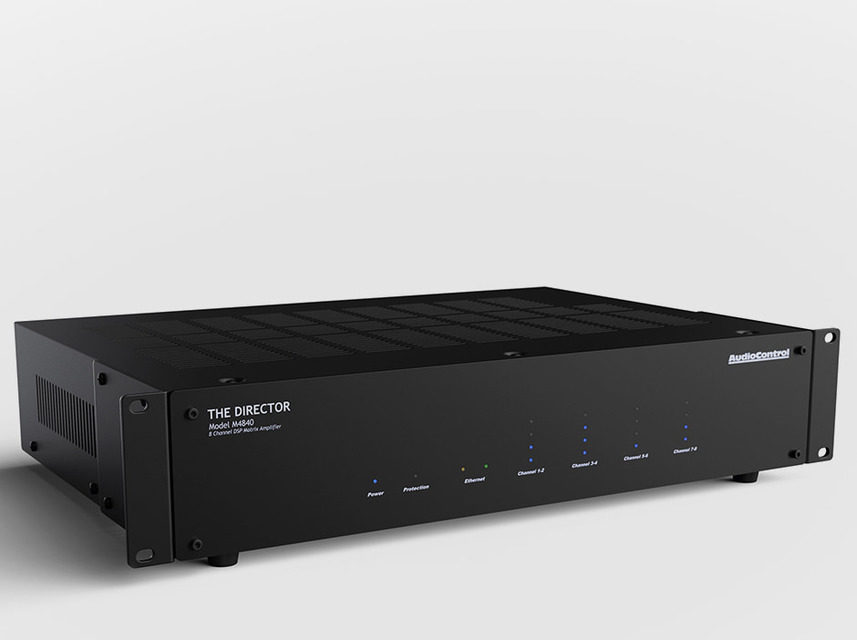 AudioControl начала продажи сетевого матричного усилителя The Director Model M4840