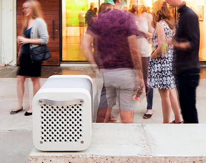 Беспроводная колонка-холодильник Kube за 3000 долларов