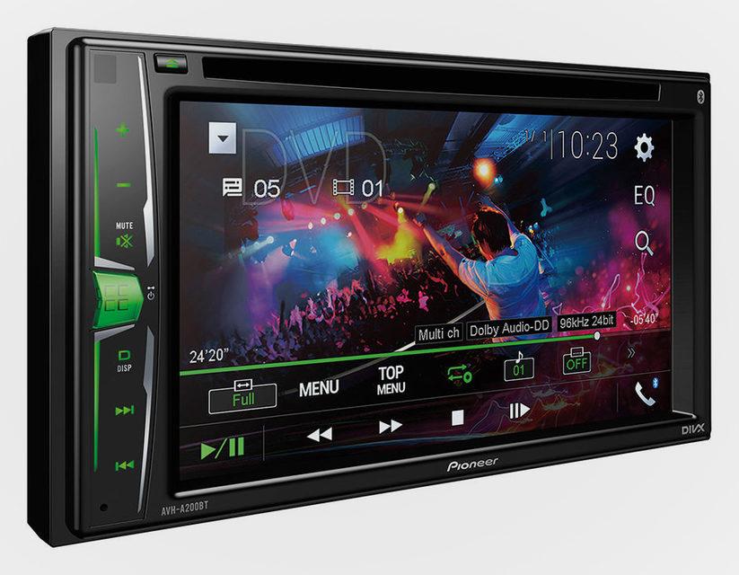 Pioneer представила автомобильные мультимедийные системы AVH-A100 и AVH-A200BT