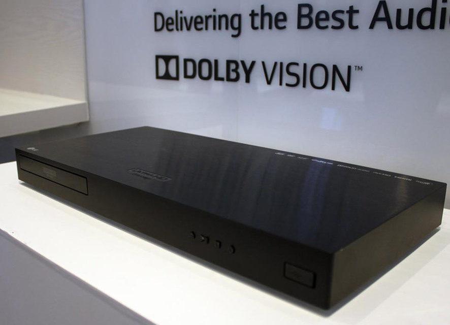 LG перевыпустила для UHD Blu-ray плеера UP970 обновление с Dolby Vision