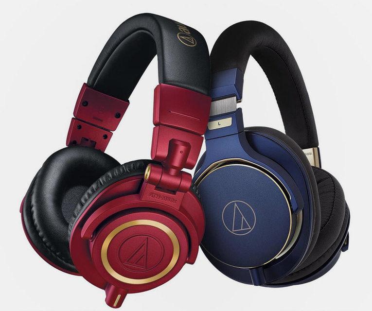 Audio-Technica выпустила лимитированные версии наушников ATH-M50x и ATH-MSR7 в ярких расцветках