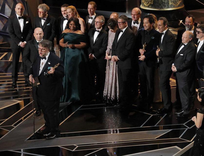 Лучшим фильмом года по версии «Оскар-2018» стала «Форма воды»