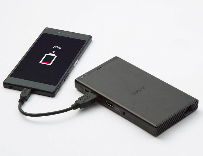 Sony выпустит пикопроектор MP-CD1 c изображением до 120 дюймов по диагонали